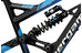Bergamont Big Air Team matt black/blue